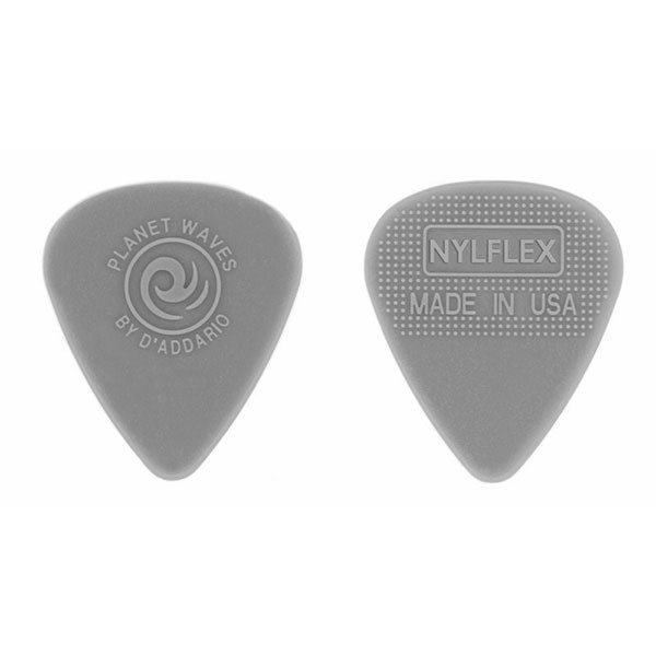 D'Addario Planet Waves 1NFX4 Nylfex Regular Shapes 0.75mm Pick