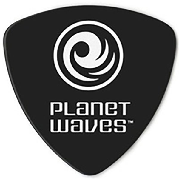 D'Addario Planet Waves 2CBK6 Celluloid Guitar Pick Black