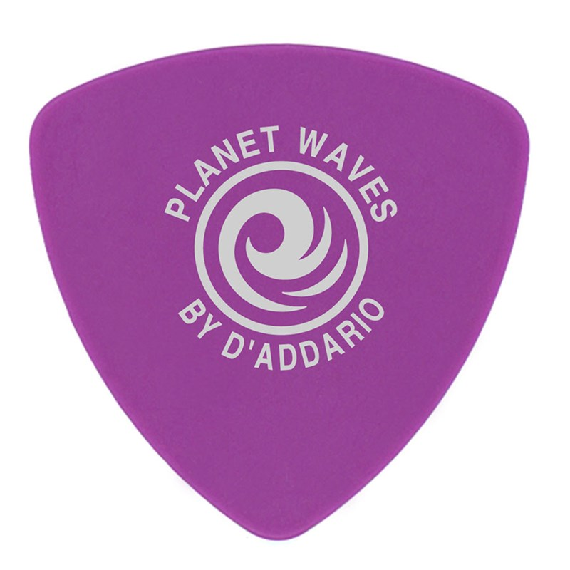 D'Addario Planet Waves 2DPL6 Duralin Wide 1.2mm Heavy Pick Purple