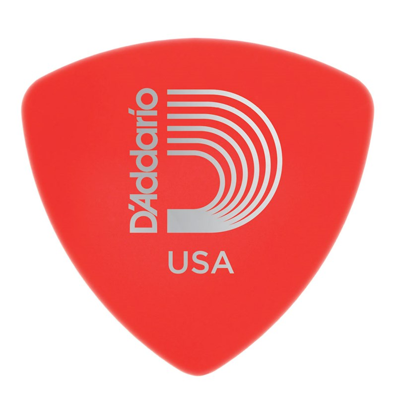 D'Addario Planet Waves 2DRD1 Duralin Wide Super Light 0.5mm Guitar Pick Red
