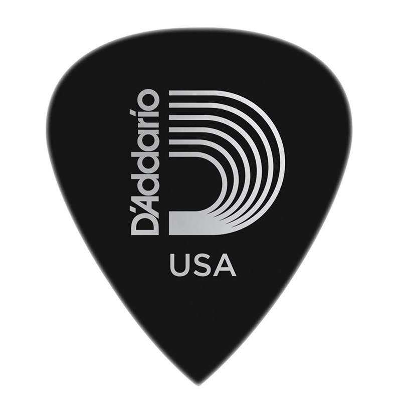 D'Addario Planet Waves 6DBK7 Duralin Precision Extra Heavy 1.5mm Guitar Pick Black