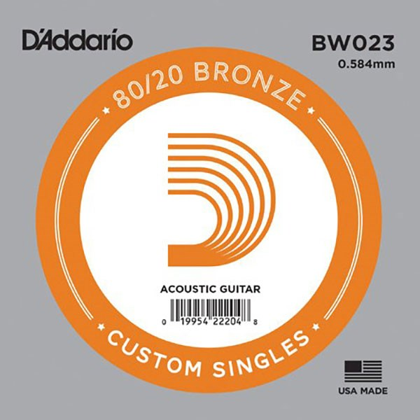 D'Addario BW023 80/20 Bronze Guitar Strings