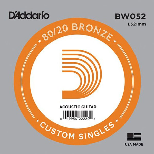 D'Addario BW052 80/20 Bronze Guitar Strings