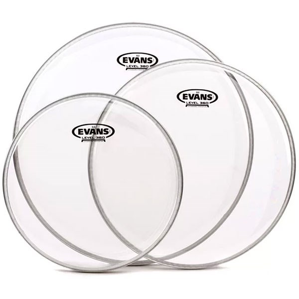 Evans ETP-G2CLR-R G2 Clear Tom Pack-Rock 10, 12,16inch