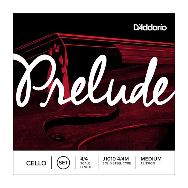 D'Addario J1010 4/4M 4/4 Scale Medium Tension Cello Strings