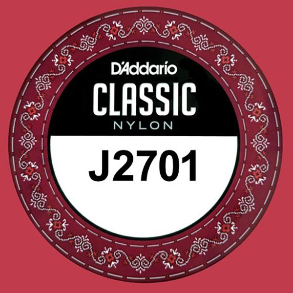 D'Addario J2701 Student Nylon Classical Guitar Single String, Normal Tension, E 1st String