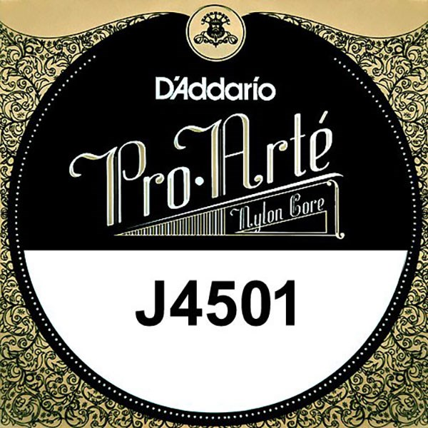 D'Addario J4501 Pro-Arte Nylon Classical Guitar Single String, Normal Tension, E 1st String
