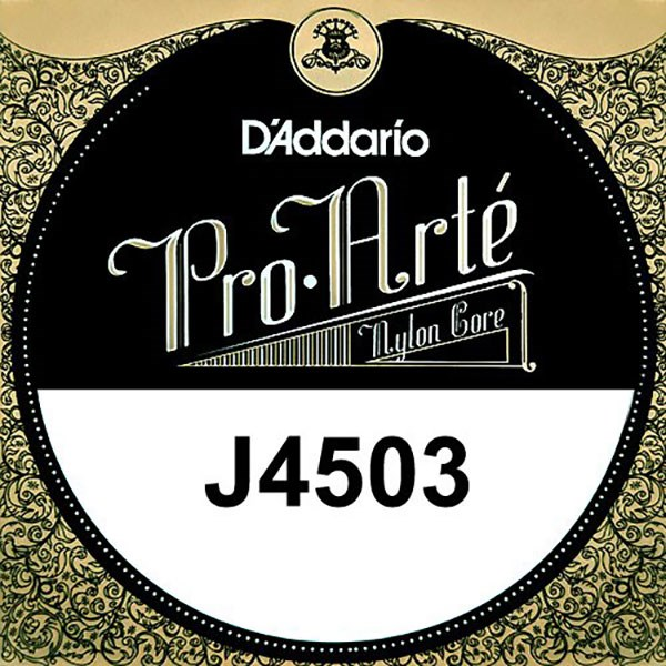 D'Addario J4503 Pro-Arte Nylon Classical Guitar Single String, Normal Tension, G 3rd String
