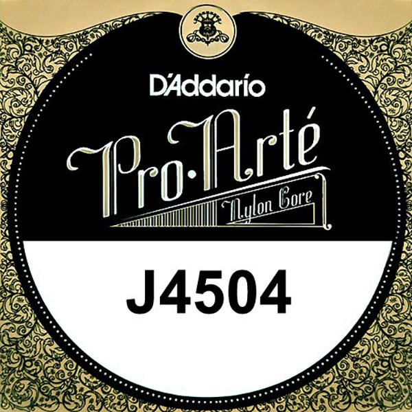 D'Addario J4504 Pro-Arte Nylon Classical Guitar Single String, Normal Tension, D 4th String