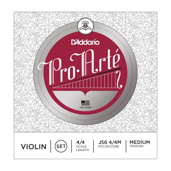 D'Addario J56 4/4M 4/4 Pro-Arte Medium Violin Strings