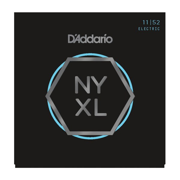 D'Addario NYXL1152 Medium Top/Heavy Bottom Electric Guitar Strings