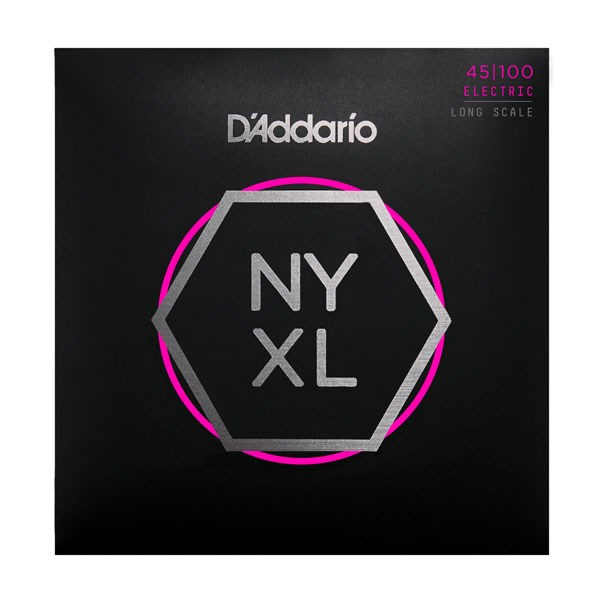 D'Addario NYXL45100 Gauge NPS Long-Scale Bass Strings