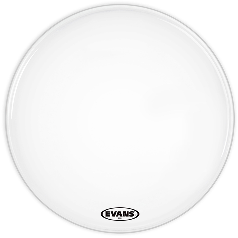 Evans BD32MX1W MX132 Inch White Bass Drum Head