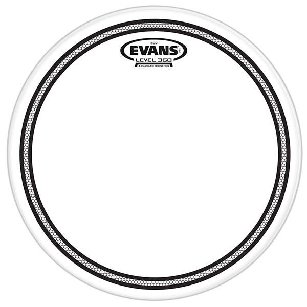 Evans TT10EC2 10-Inch Clear Tone Ring Drum Head Drumhead