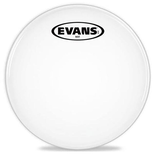 Evans TT14MXW MX 14-Inch White Marching Tenor Drum Head