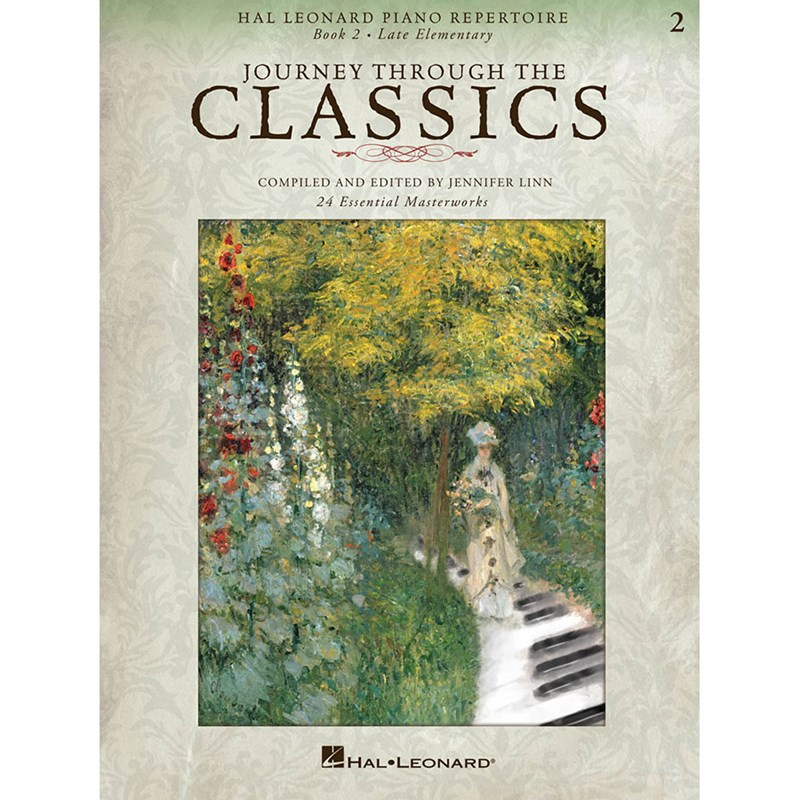 Hal Leonard HL00296871 Journey Through the Classics: Book 2