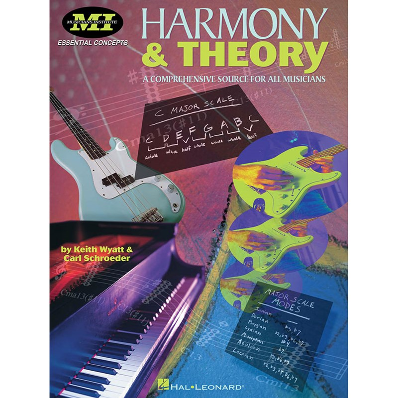 Hal Leonard HL00695161 Musicians Institute Harmony and Theory