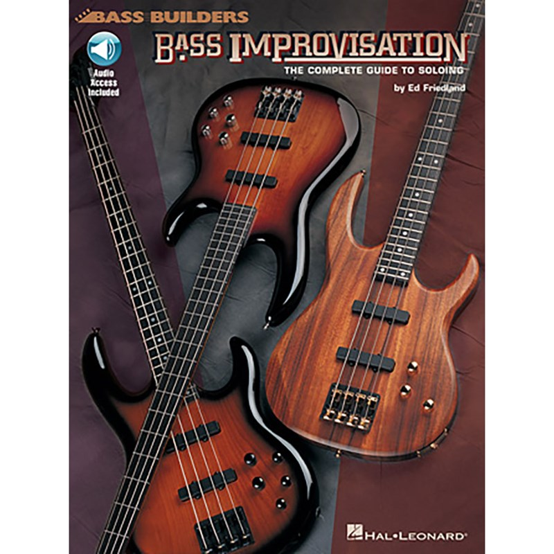 Hal Leonard HL00695164 Bass Improvisation: The Complete Guide To Soloing