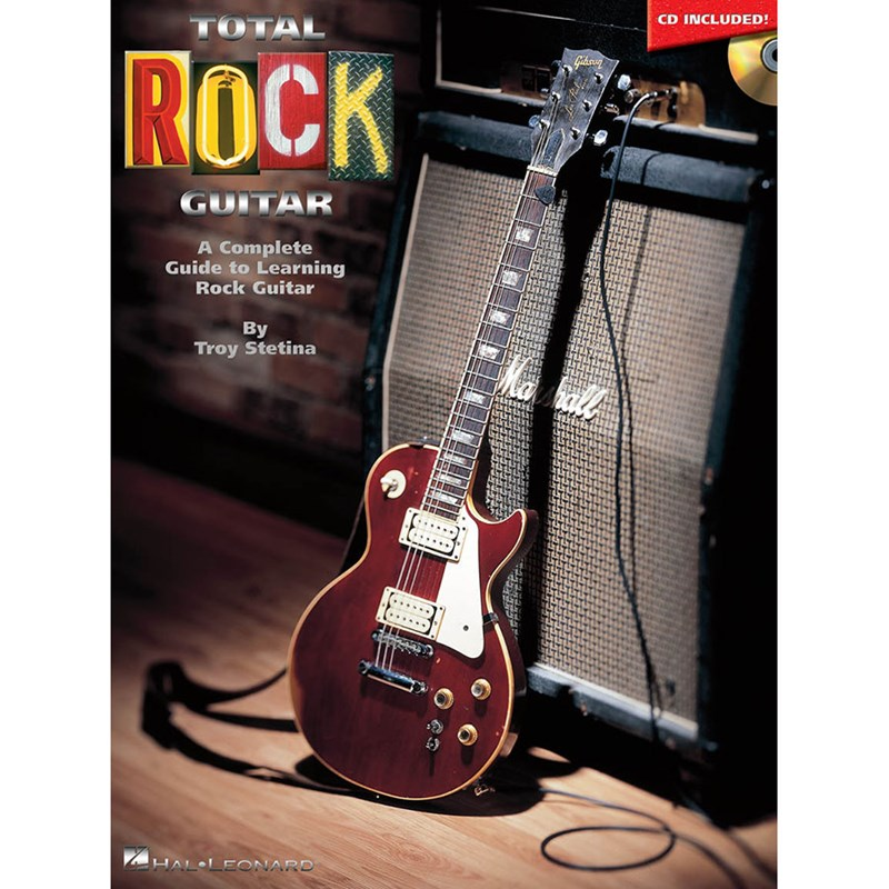 Hal Leonard HL00695246 Total Rock Guitar