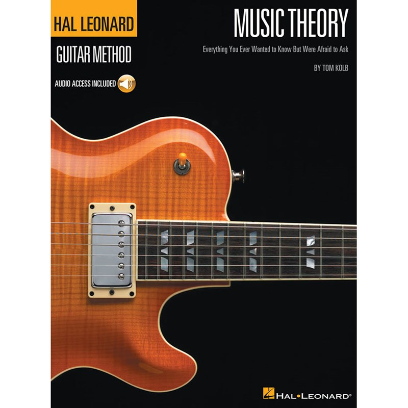 Hal Leonard HL00695790 Guitar Method Music Theory