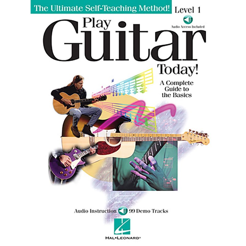Hal Leonard HL00696100 Play Guitar Today! Level 1 with CD