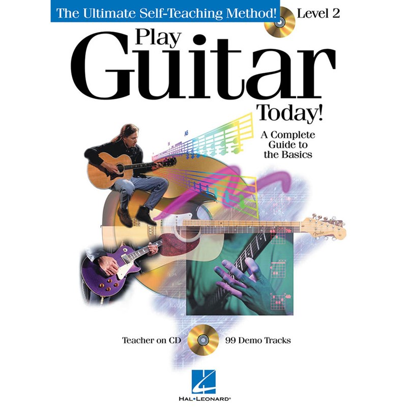 Hal Leonard HL00696101 Play GUitar Today! Level 2 with CD