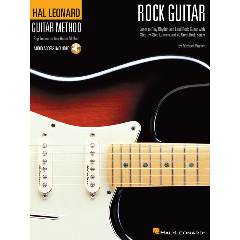 Hal Leonard HL00697319 Rock Guitar Method