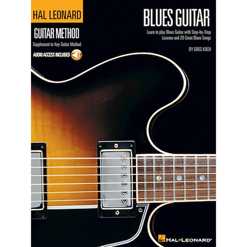 Hal Leonard HL00697326 Guitar Method Blues Guitar