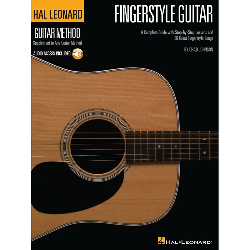 Hal Leonard HL00697378 Fingerstyle Guitar Method with CD