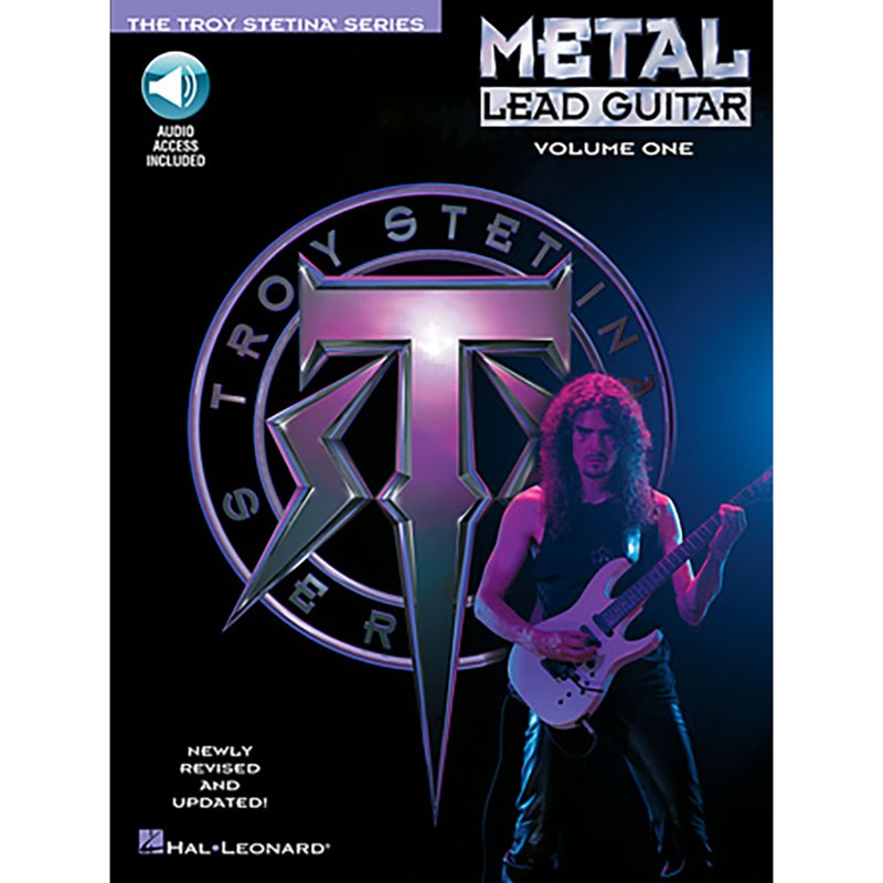 Hal Leonard HL00699321 Metal Lead Guitar Volume 1