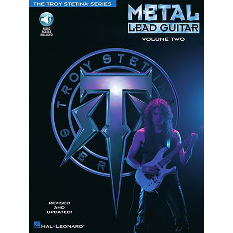 Hal Leonard HL00699322 Metal Lead Guitar Volume 2
