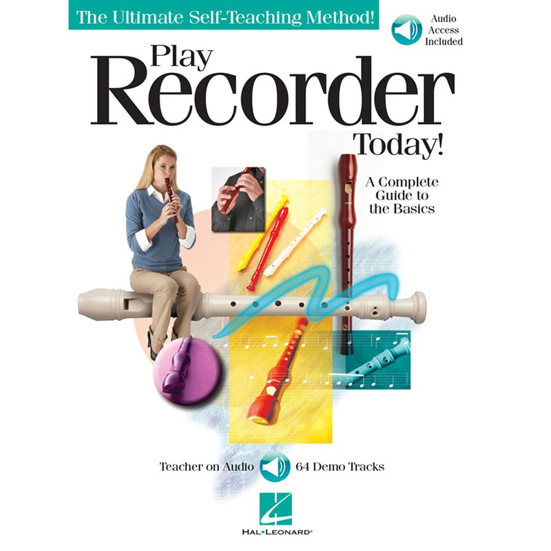 Hal Leonard HL00700919 Play Recorder Today