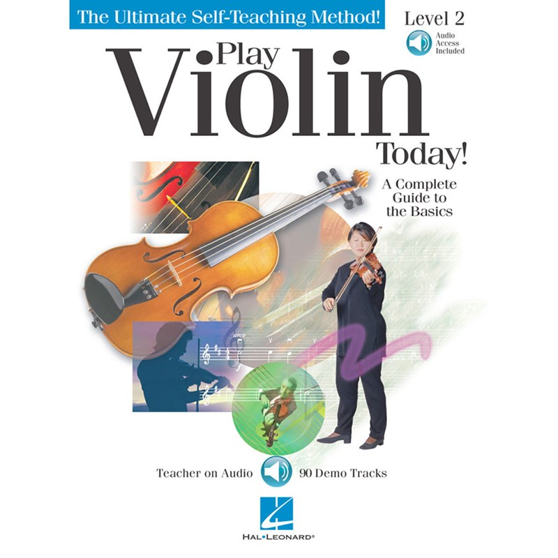 Hal Leonard HL00701320 Play Violin Today! Level 2 with CD