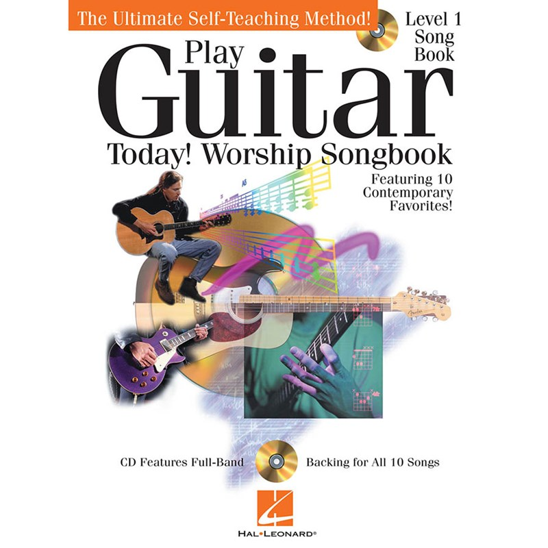 Hal Leonard HL00702431 Play Guitar Today Worship Songbook