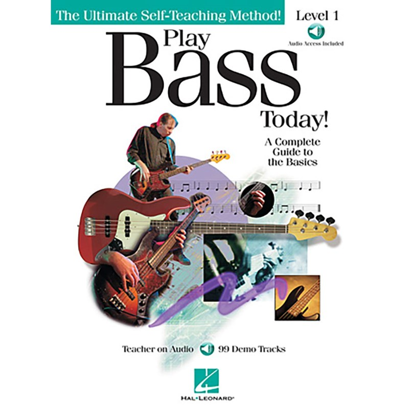 Hal Leonard HL00842020 Play Bass Today! Level 1
