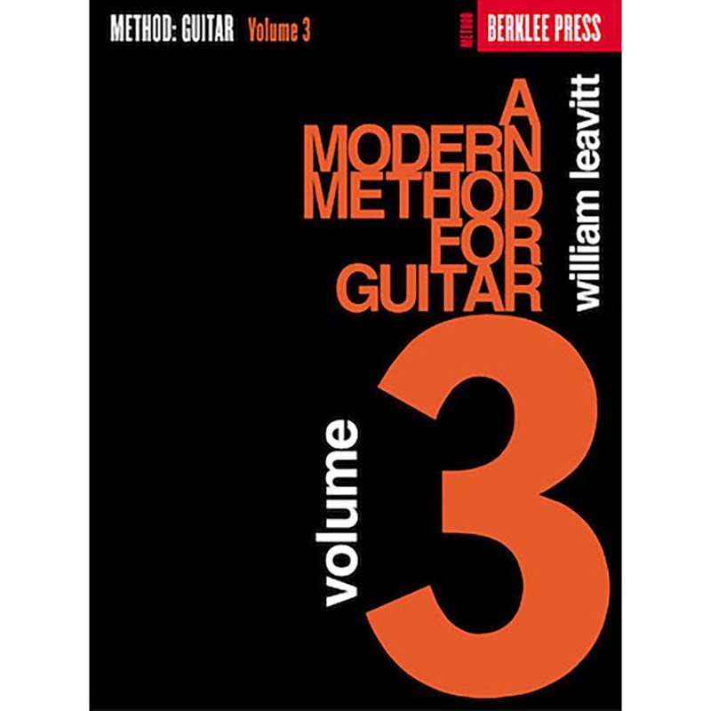 Hal Leonard HL50449420 A Modern Method For Guitar Volume 3