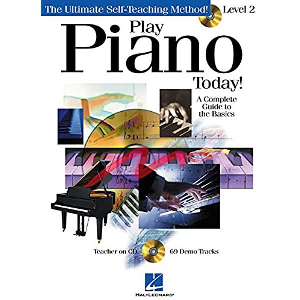 Hal Leonard HL00842040 Play Piano Today! Level 2