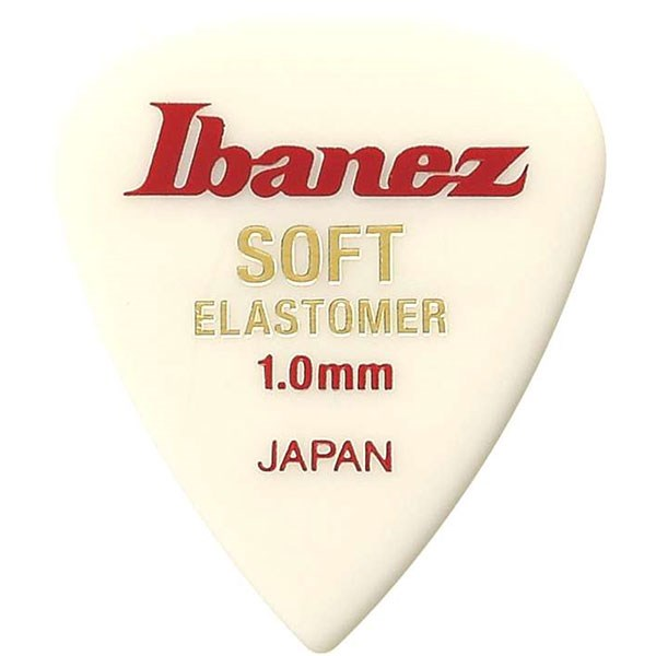 Ibanez EL17ST10 Elastomer Teardrop Pick Soft 1.0mm
