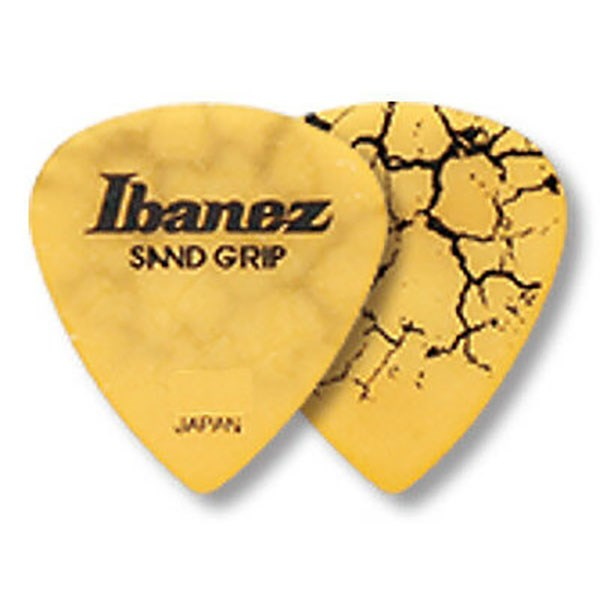 Ibanez PA16HCG Flat Pick Sand Grip Crack Model Heavy 1.0mm