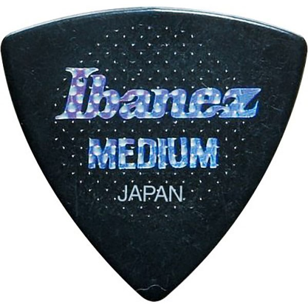 Ibanez PS8MR Rubber Grip Triangular Pick Medium 0.8mm
