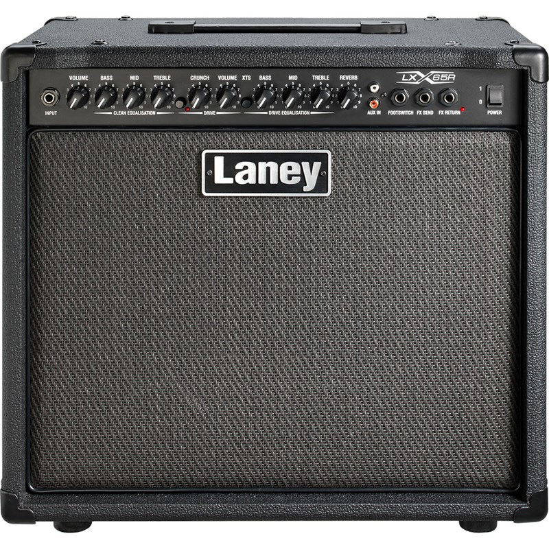 Laney LX65R 65W 1x12 Guitar Combo Amp Black