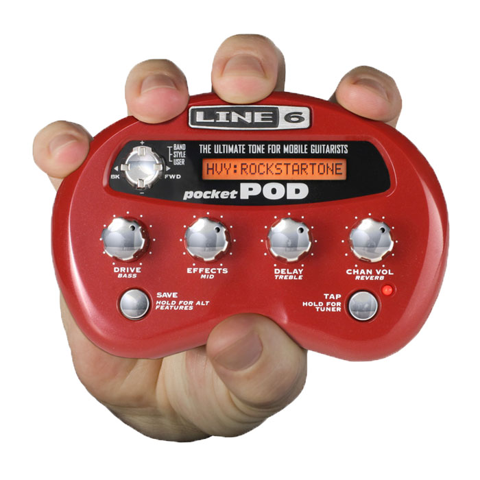 Line 6 Pocket POD Guitar Multi-Effects Processor<br>POCKET POD