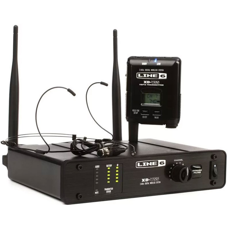 Line 6 XD-V55HS Digital Wireless Headset Microphone