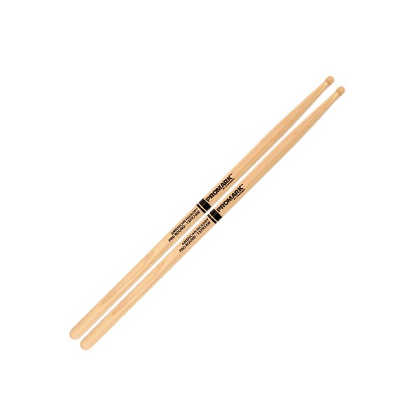 Promark TXPR7AW Hickory 7A Drumsticks - Wood Tip