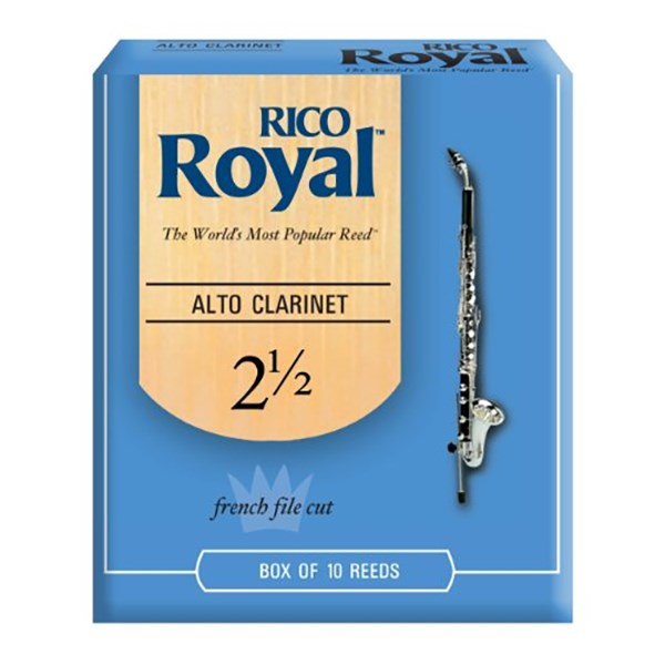 Rico RDB1025 Royal Alto Clarinet Reeds - Strength 2.5 - 1 Piece