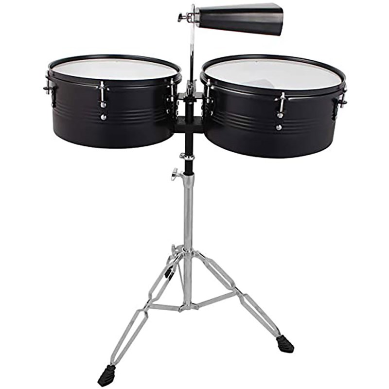 Signature TImbales with Cow Bells and Stick
