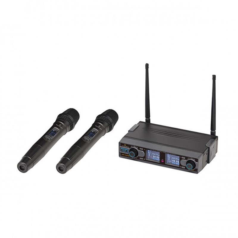 Soundsation WF-D290HH Dual Digital UHF 2 Handheld Microphones 823-832 MHz