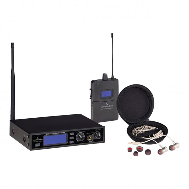 Soundsation WF-U99 Stereo In-Ear Mnitor System UHF 99-Channel 863-865 MHz