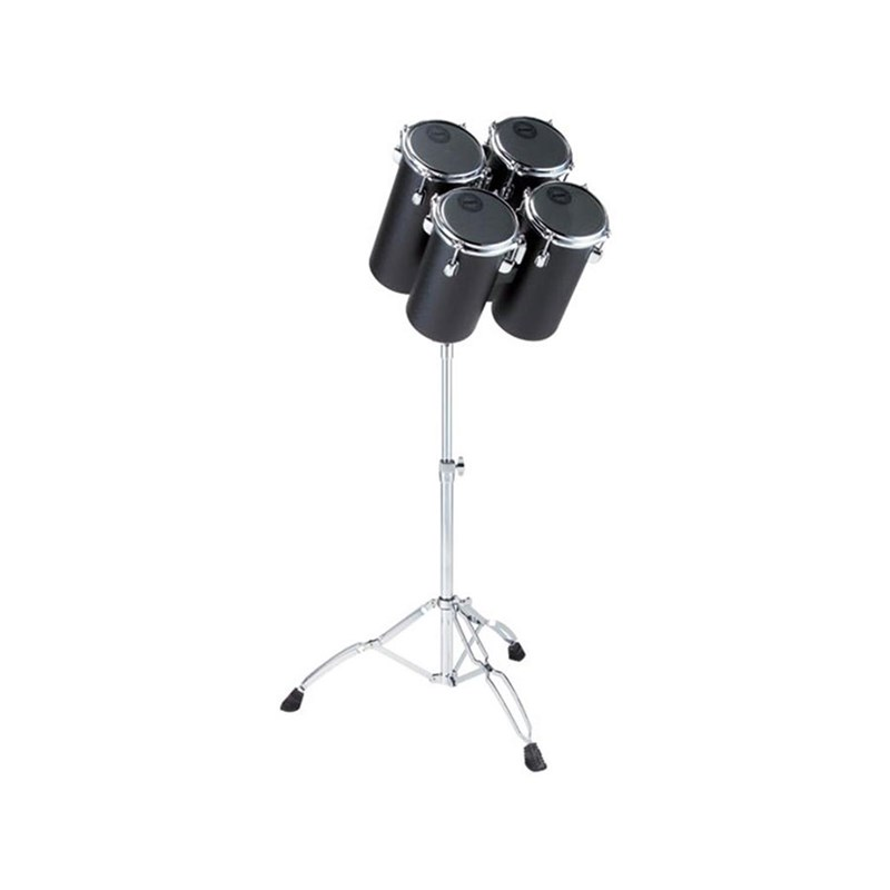 Tama 7850N4H High Pitch 4-Piece Jet Black Octoban Set w/ Stand