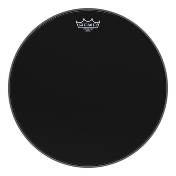 Remo ES-0016-00 Ebony Ambassador 16inch Drum Head